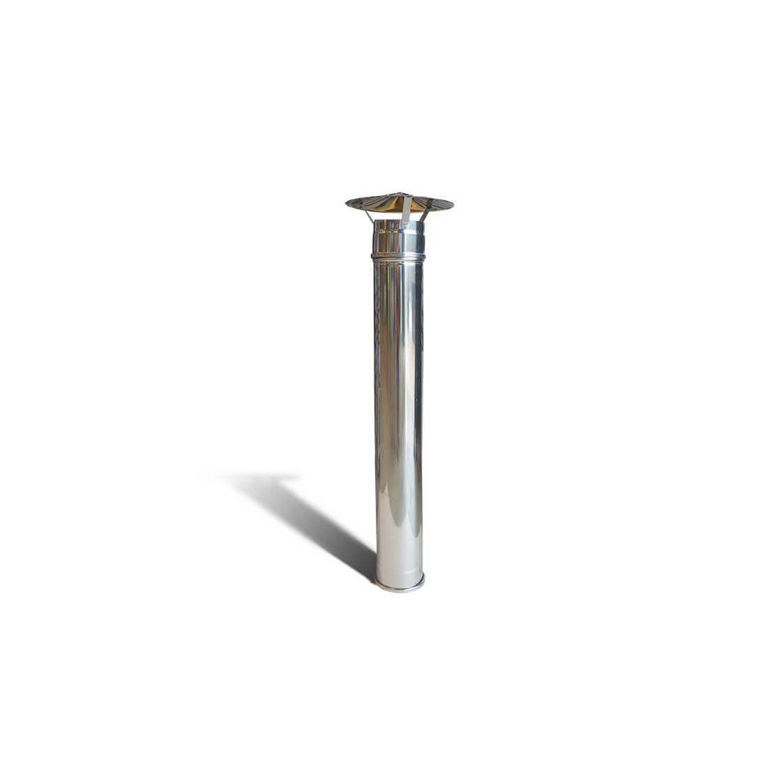 Pizza Oven Stainless Steel Chimney Pipe With Cowl Free