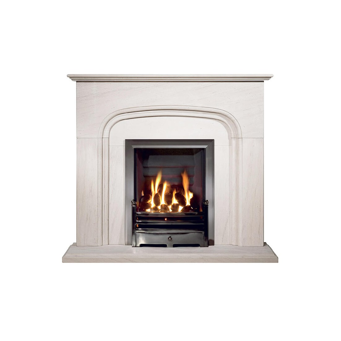 Bowland Portuguese Limestone Fireplace Fireland Co Uk Free Delivery