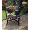 Buffalo Large Wood & Charcoal Fire Pit Bundle