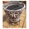Asador Bacchus Clay BBQ Grill Fire Pit