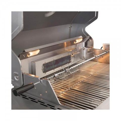 Lifestyle Stainless Steel BBQ Rotisserie