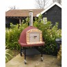 Portable XL Vulcano Wood Burning Oven With Trolley
