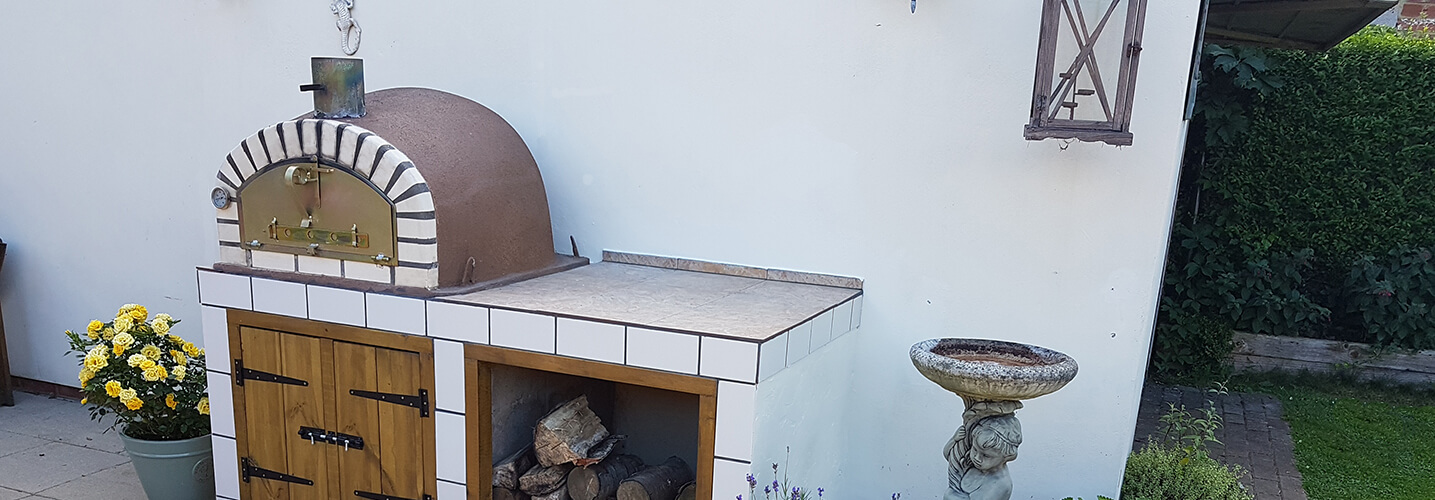 Italian Belllissimo Outdoor Pizza Oven