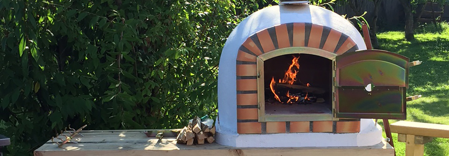 cheap outdoor brick pizza ovens